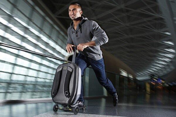чемодан самокат Чемодан самокат для активных путешественников