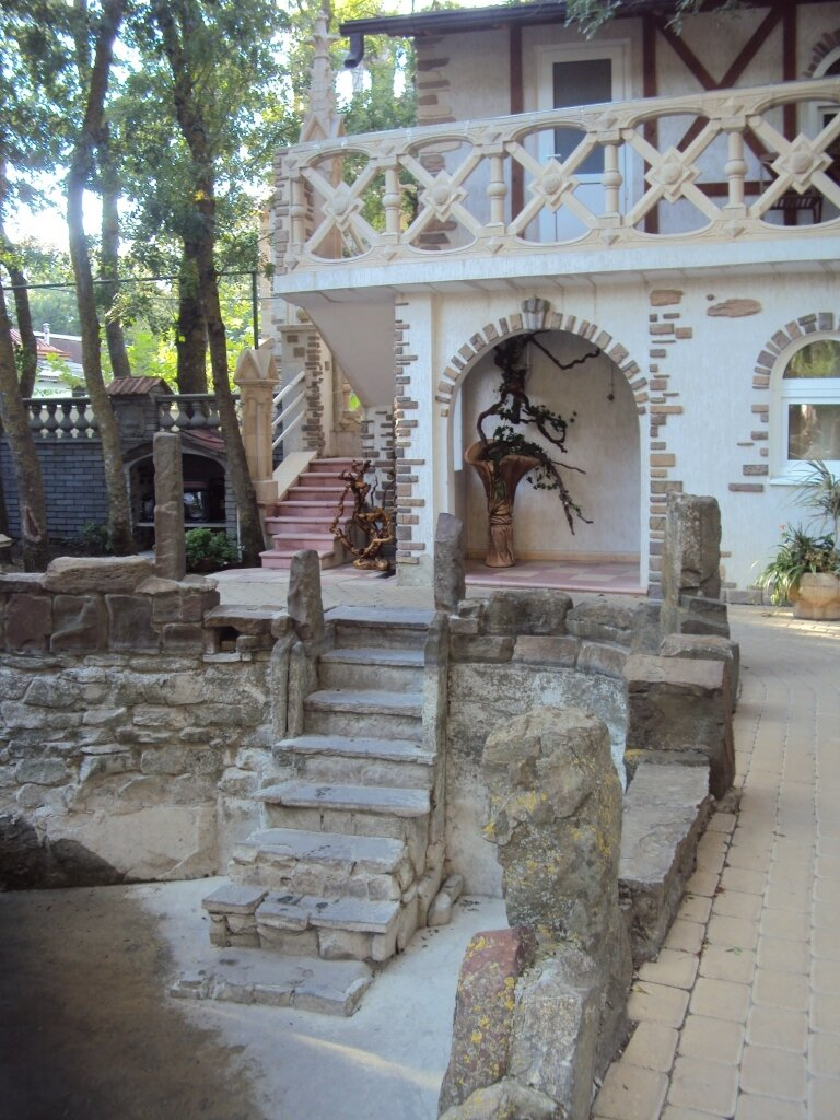кабардинка старый парк 2 Кабардинка со своим райским садом...