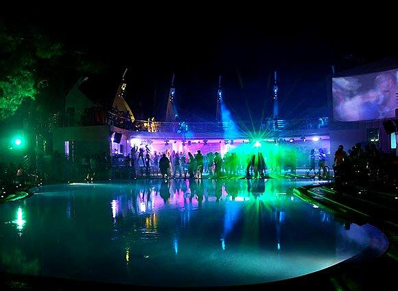 аквадискотека 1 Развлечения в Геленджике