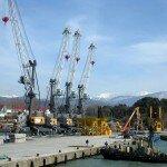 Имеретинская бухта Сочи порт
