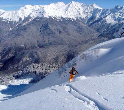 горнолыжный курорт Красная Поляна Отели и гостиницы  Красной Поляны