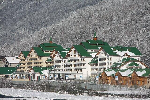 гранд отель поляна Отели и гостиницы  Красной Поляны