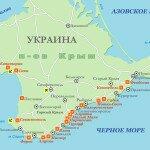курорты-крыма карта
