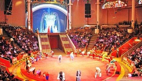 помещение цирка Сочинский цирк