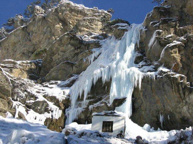 крымские горы водопады Крымские горы