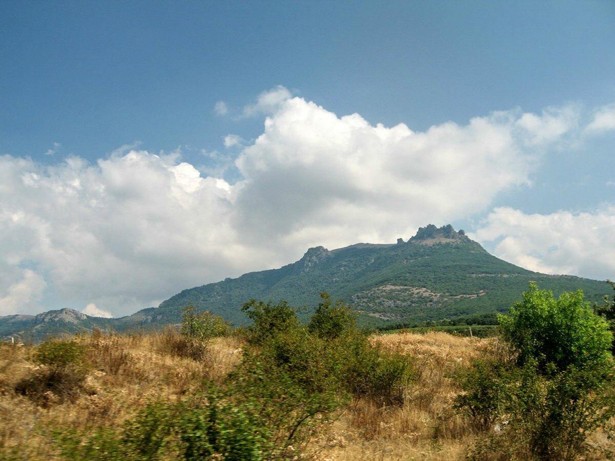 Шатер Гора Крымские пещеры