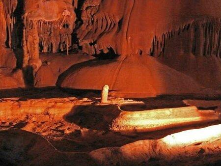 мраморная пещера крым Крымские пещеры