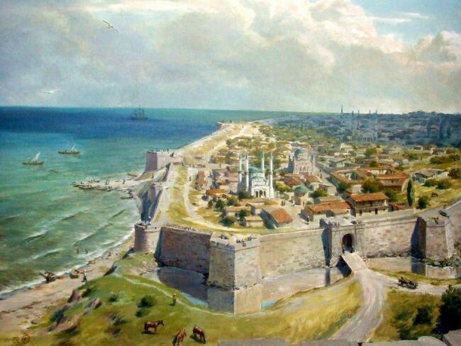 Георгипия Древний город Георгиппия