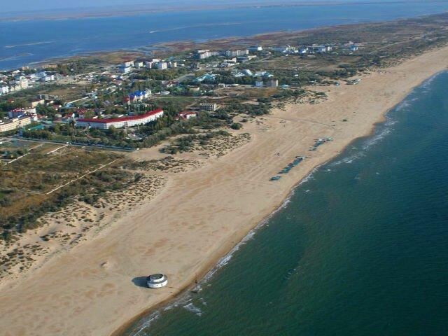 витязево пляж Курортные поселки Анапы