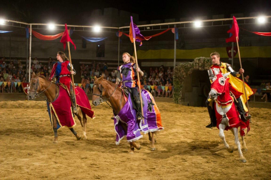 сукко рыцарский турнир Курортные поселки Анапы