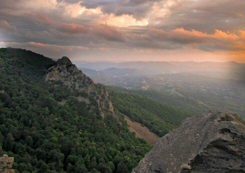 гора Индюк Анастасиевка и ее окрестности