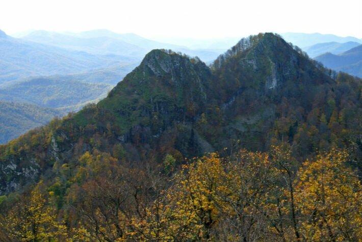 гора два брата Анастасиевка и ее окрестности
