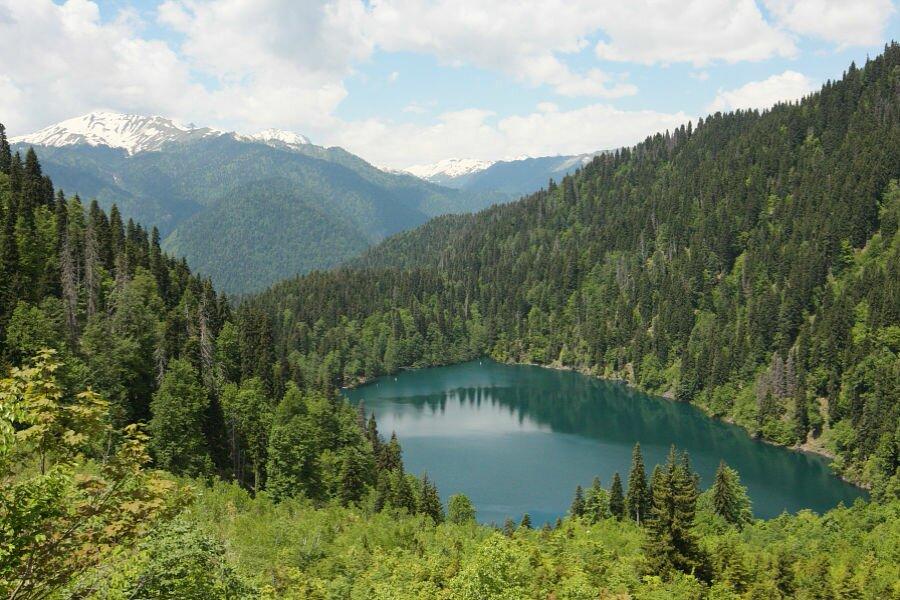 озеро рица Какие в Сочи гостиницы