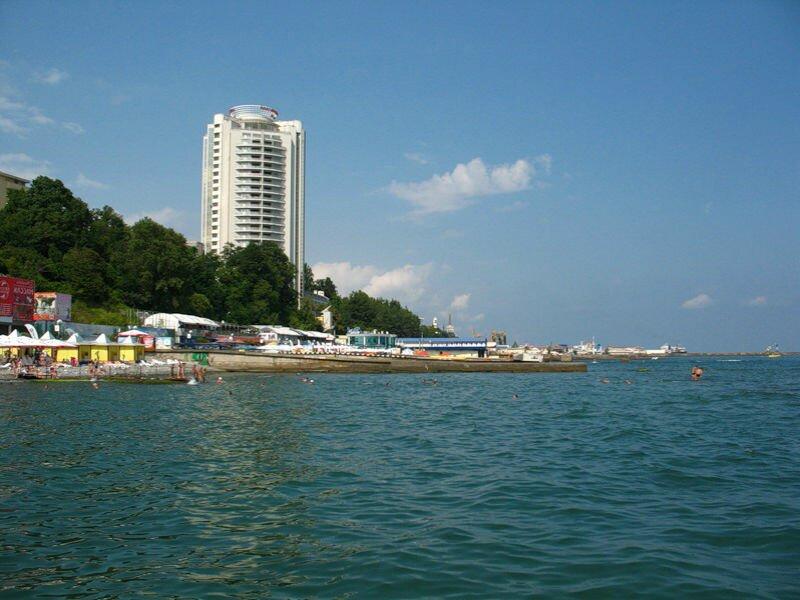 сочи гостиницы у моря Какие в Сочи гостиницы