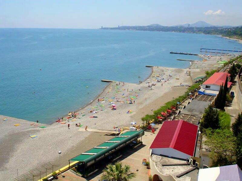 пляж Дагомыс Пляжи в Сочи