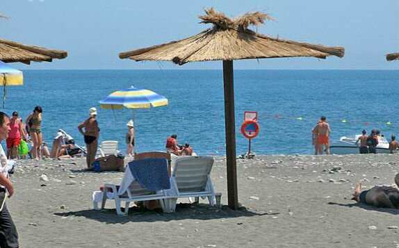 пляж Ривьера Пляжи в Сочи