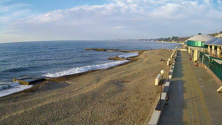 пляж Спутник Пляжи в Сочи