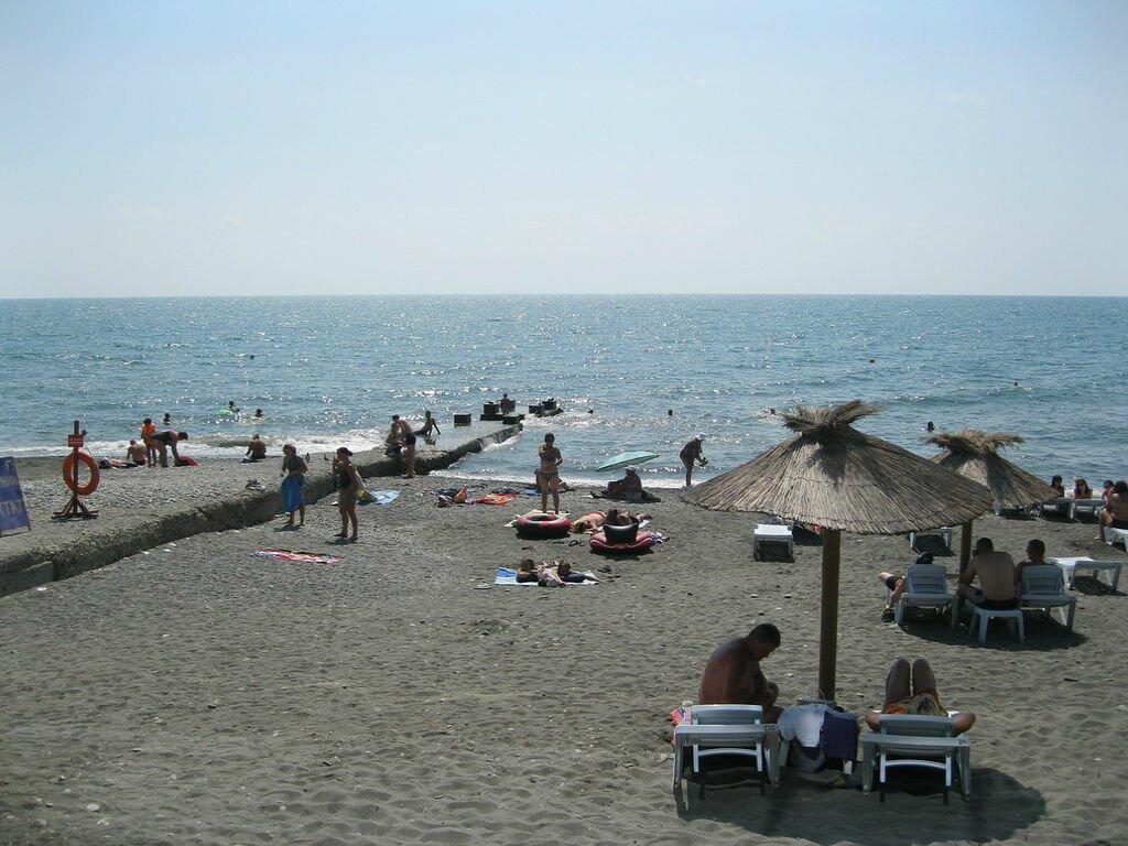 пляж Чайка Пляжи в Сочи